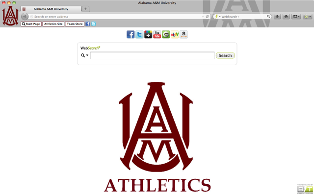 Alabama A&M University welcome image