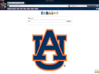Auburn University welcome image