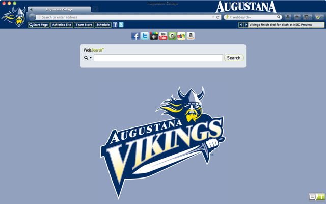 Augustana College welcome image