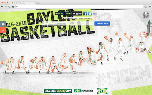 Baylor University welcome image