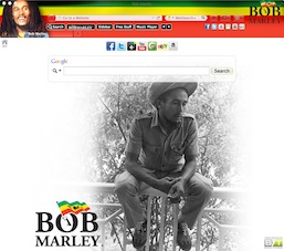 Bob Marley welcome image