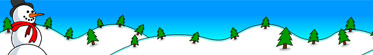 Snowman Christmas Holiday Browser Theme