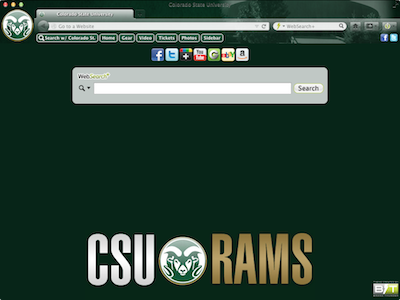 Colorado State University welcome image