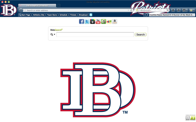 Dallas Baptist University welcome image