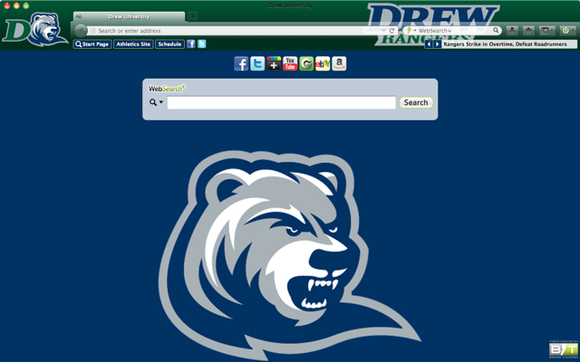 Drew University welcome image