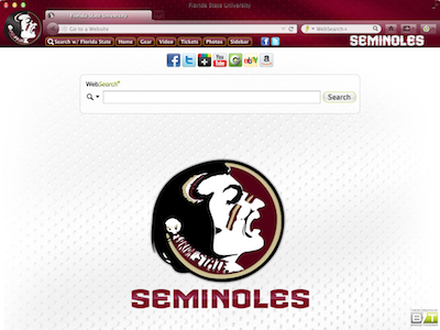 Florida State University welcome image