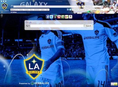 Los Angeles Galaxy welcome image