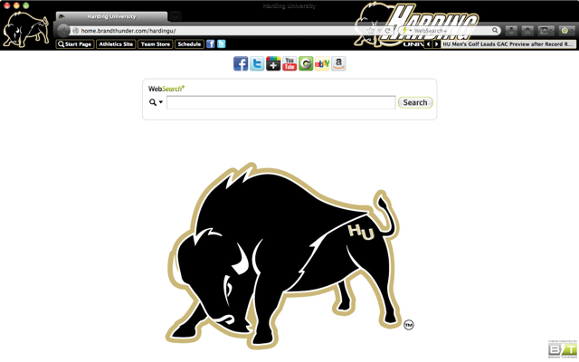 Harding University welcome image
