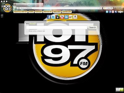 HOT 97 Interactive Persona welcome image