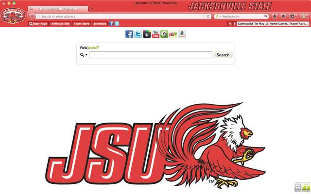 Jacksonville State University welcome image