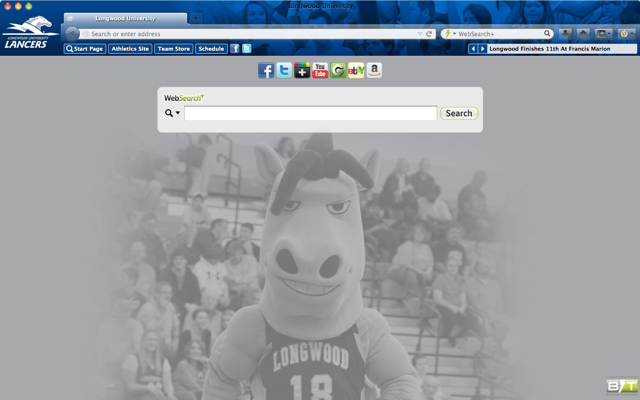 Longwood University welcome image