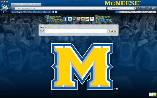 McNeese State University welcome image