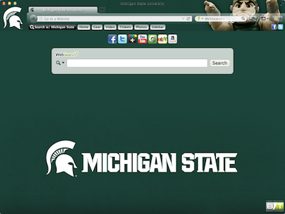 Michigan State University welcome image