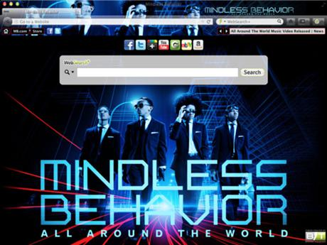Mindless Behavior welcome image