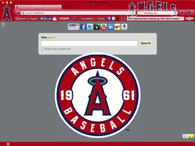 Los Angeles Angels of Anaheim  welcome image