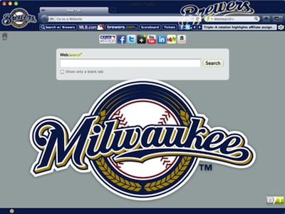 Milwaukee Brewers welcome image