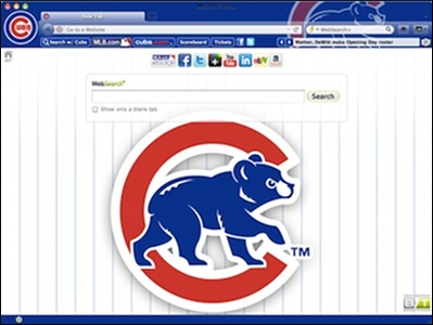 Chicago Cubs welcome image