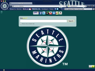 Seattle Mariners welcome image