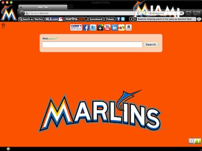 Miami Marlins welcome image