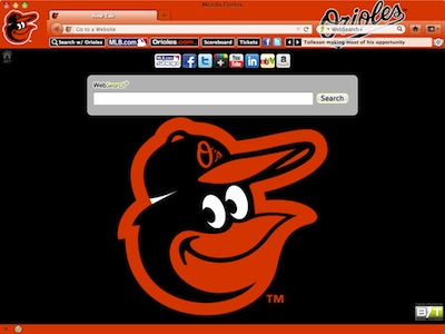 Baltimore Orioles welcome image