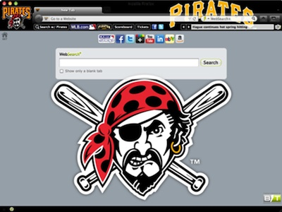 Pittsburgh Pirates welcome image