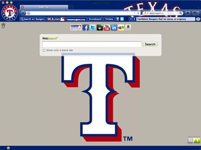 Texas Rangers welcome image
