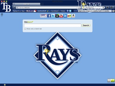 Tampa Bay Rays welcome image