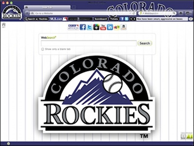 Colorado Rockies welcome image