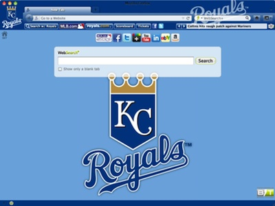 Kansas City Royals welcome image