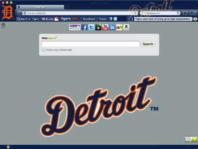 Detroit Tigers welcome image