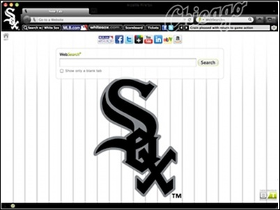 Chicago White Sox welcome image