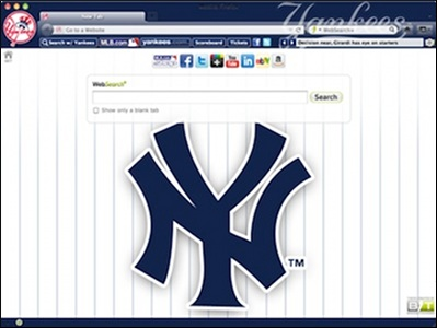New York Yankees  welcome image