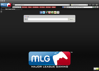 Major League Gaming Interactive Persona welcome image
