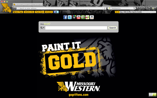 Missouri Western State University welcome image