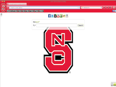 North Carolina State University welcome image