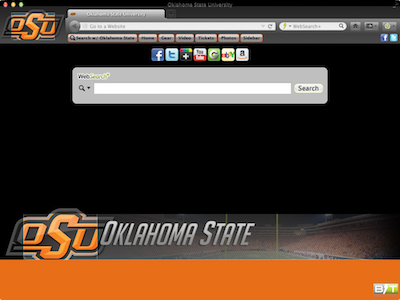 Oklahoma State University welcome image