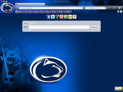 Penn State University welcome image