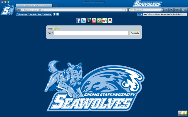 Sonoma State University welcome image
