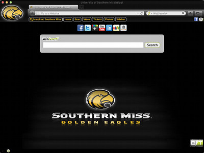 University of Southern Mississippi welcome image