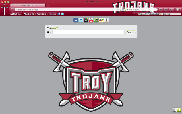 Troy University welcome image