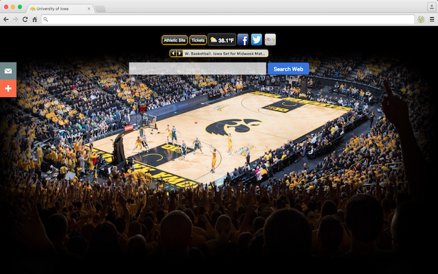 University of Iowa welcome image