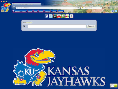 University of Kansas welcome image