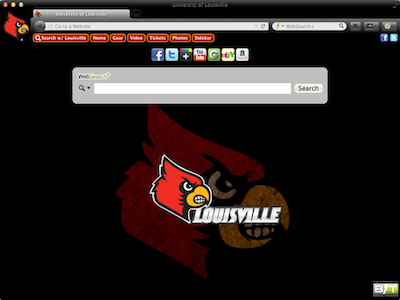 University of Louisville welcome image