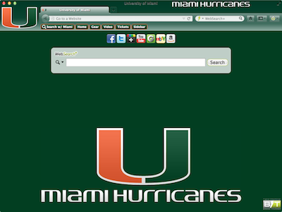 University of Miami welcome image