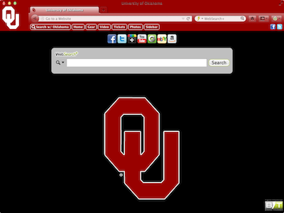 University of Oklahoma welcome image