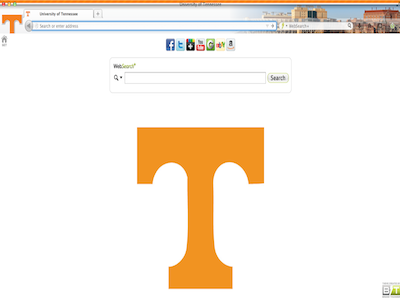 University of Tennessee welcome image