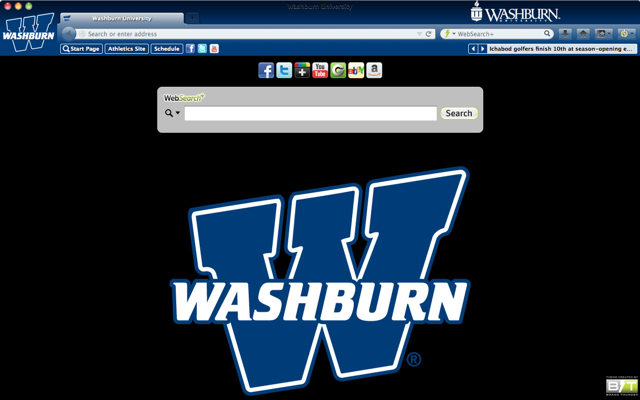 Washburn University welcome image